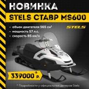 НОВИНКА! STELS СТАВР MS600