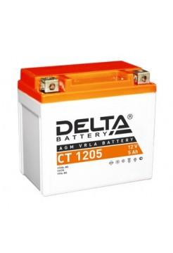 Стартерные аккумуляторные батареи Delta серии СТ 1205