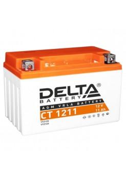 Стартерные аккумуляторные батареи Delta серии СТ 1211
