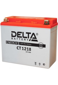 Стартерные аккумуляторные батареи Delta серии СТ 1218