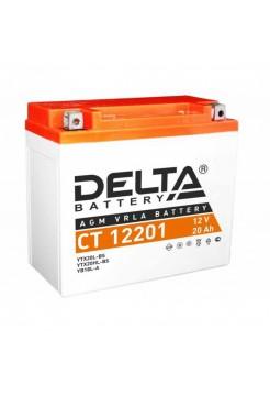 Стартерные аккумуляторные батареи Delta серии СТ 12201