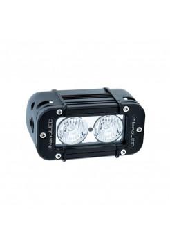 NANOLED Светодиодная фара 20W, 2 LED CREE X-ML, Euro (ближний свет c боковой засветкой)