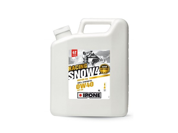 IPONE Масло моторное для снегоходов Snow Racing 4T 0W-40 4L