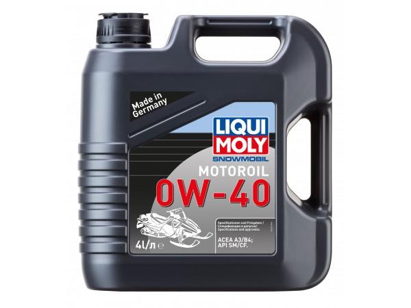 Liqui Moly Синтетическое моторное масло для снегоходов Snowmobil Motoroil 0W-40 4L