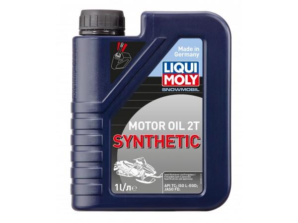 Liqui Moly Синтетическое моторное масло для снегоходов Snowmobil Motoroil 2T Synthetic 1L