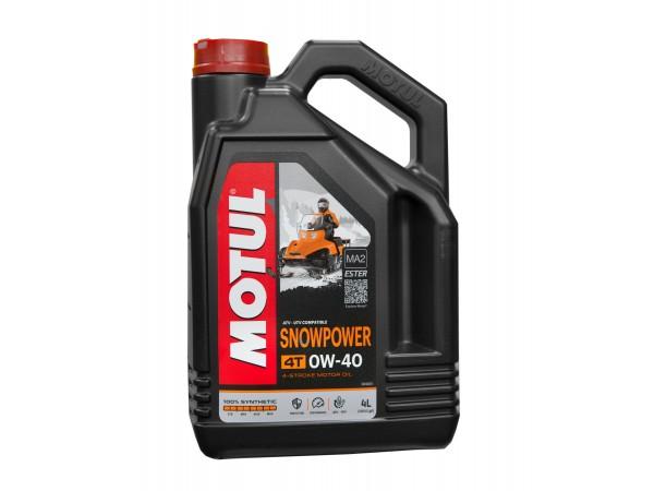 Motul Масло моторное Snowpower 4T 0W40 4л. для снегоходов