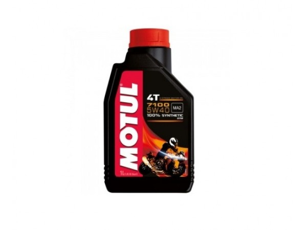 Motul Моторное масло 7100 4T SAE 5W-40  Synth Ester 1 л