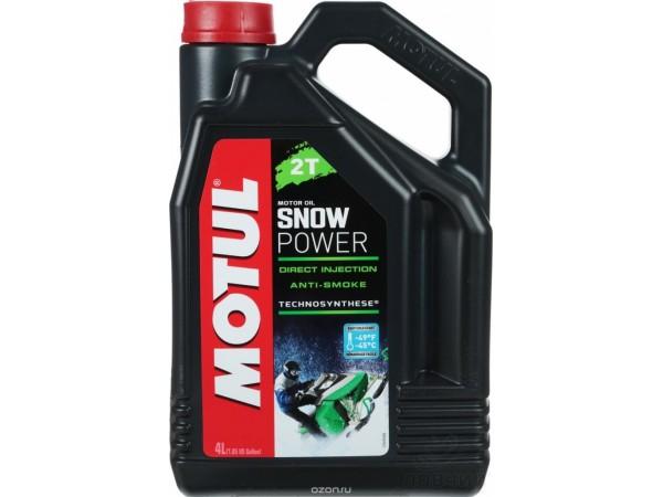 Motul ГСМ  SnowPower 2T 4л полусинтетическое