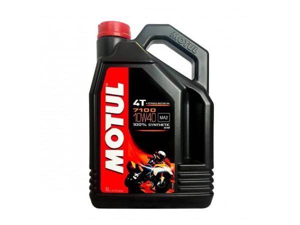 Motul Моторное масло 7100 4T 10W-40  Synth Ester 1 л