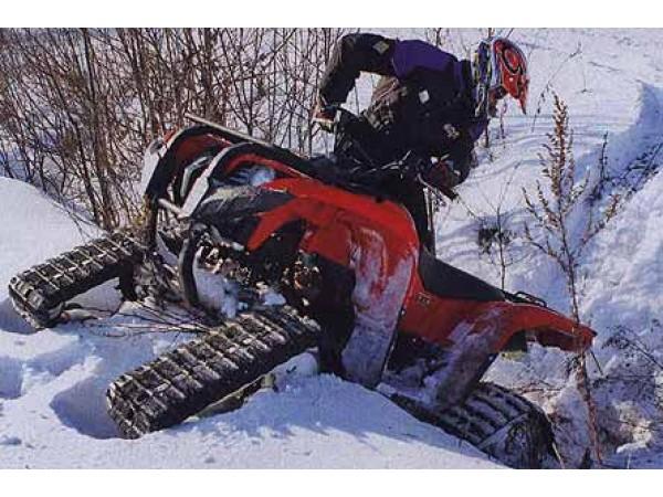 Крепления для гусениц на квадроциклы Yamaha Grizzli (комплект)