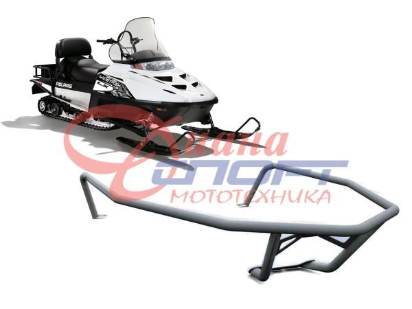 Бампер передний для снегохода Polaris Widetrak LX