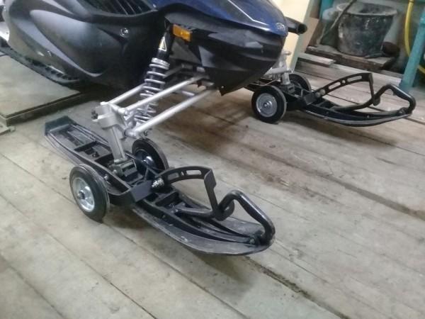 Транспортировочные тележки для снегохода (Sledroller)