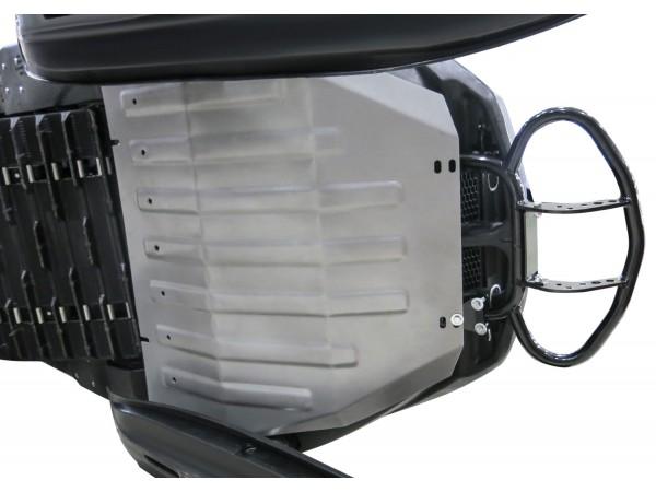 Защита днища снегохода Stels Росомаха S800  / Stels Viking S600 (с комплектом крепежа)