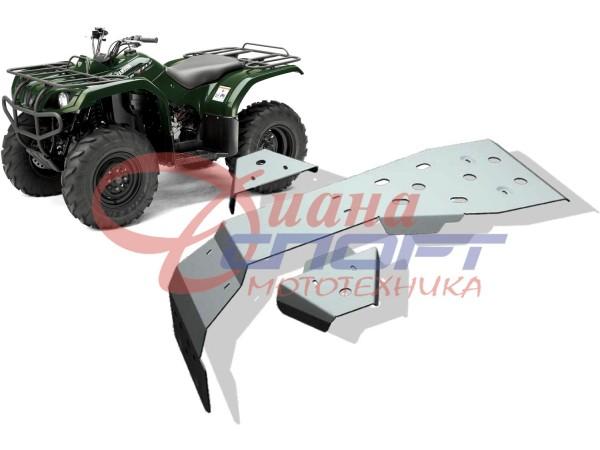 Защита днища Yamaha ATV Grizzly 350