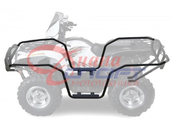 Защита боковая Yamaha Grizzly 700/550, вес 11.2кг