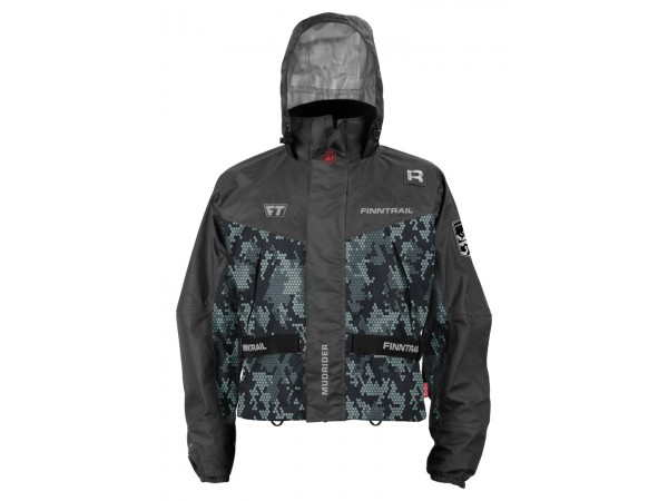 FINNTRAIL Куртка Mudrider Camo/Grey