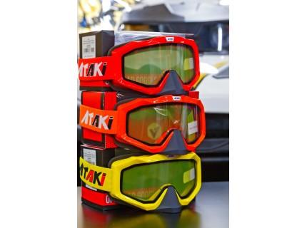 ATAKI Очки мотокросс/снегоход (двойное стекло) HB-811