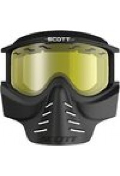 SCOTT Очки 83X SAFARI Facemask black-yellow