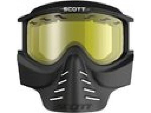 SCOTT Очки 83X SAFARI Facemask black-yellow