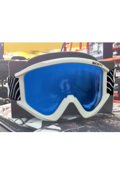 SCOTT Очки Recoil XL Snow Cross, white-sky blue