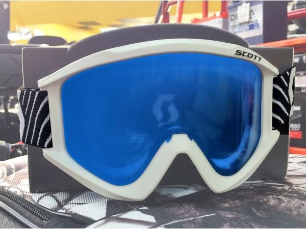 SCOTT Очки Recoil XL Snow Cross, white-sky blue