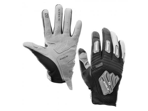 Перчатки мотоциклетные из искуственной кожи МХ32-grey