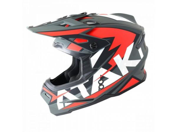 Шлем кроссовый Ataki JK801 Rampage