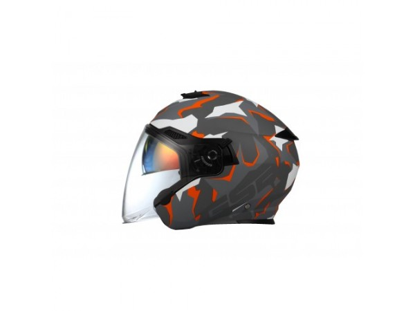 Шлем открытый G-263 ORANGE CAMO