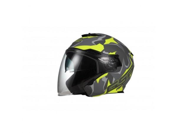 Шлем открытый G-263 YELLOW CAMO