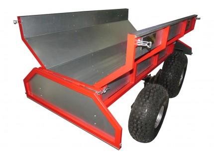 Прицеп для квадроциклов, кузов 1800*1060, (одноосный, четырехколесный)