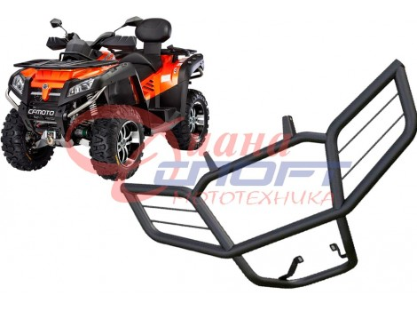 Бампер передний CF-moto X8, вес 5,8кг