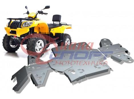 Защита днища CF MOTO ATV 500 А / 2A (5 частей)