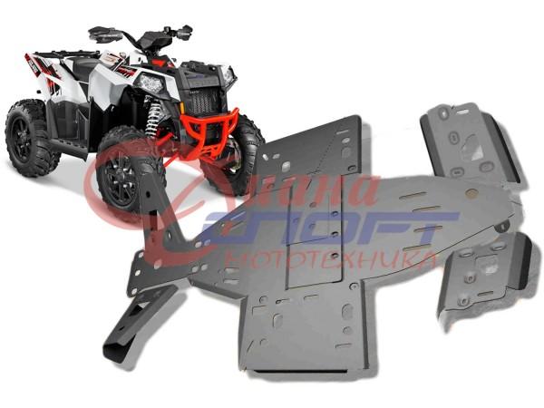 Защита днища Polaris Scrambler ATV 1000 (7 частей)