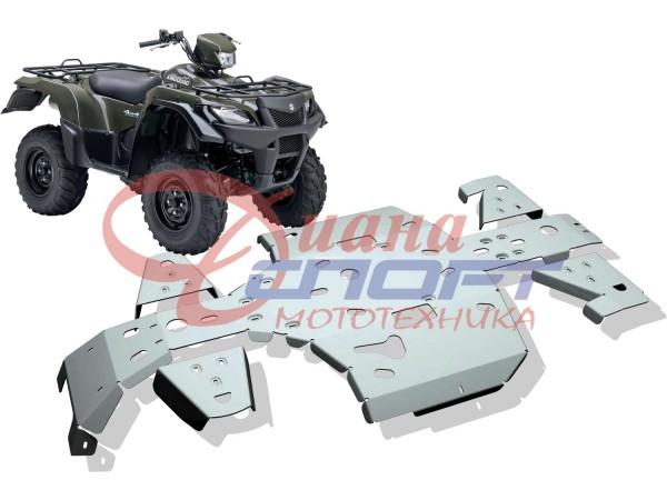 Защита днища Suzuki KING QUAD LT-A750/ LT-A500 (5 частей)
