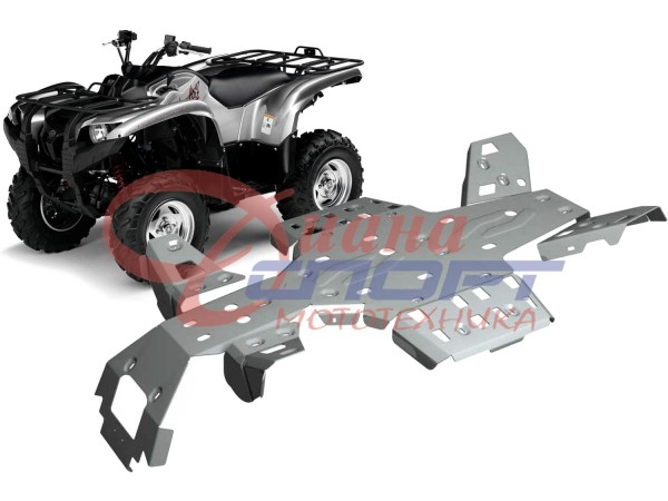 Защита днища Yamaha ATV Grizzly 550