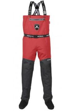 FINNTRAIL Вейдерсы, забродни ATHLETIC Plus Серый/красный